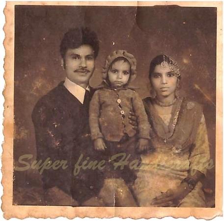 Mohd Shahid-Childhood